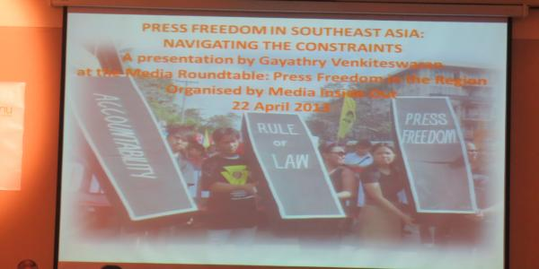 Press Freedom in the Region